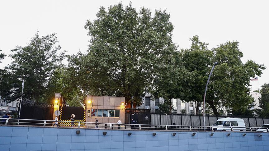ABD'nin Ankara Büyükelçiliğine ateş açıldı