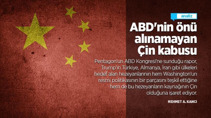 ABD'nin önü alınamayan Çin kabusu