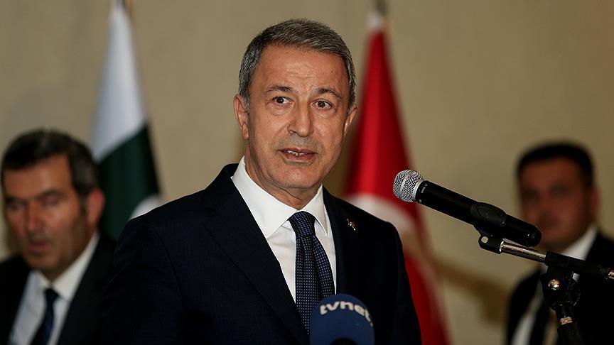 Milli Savunma Bakanı Akar'dan 'İdlib' açıklaması