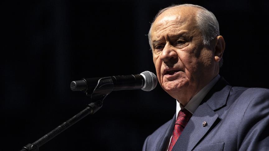 MHP Genel Başkanı Devlet Bahçeli: Karar ve yetki TBMM'nindir