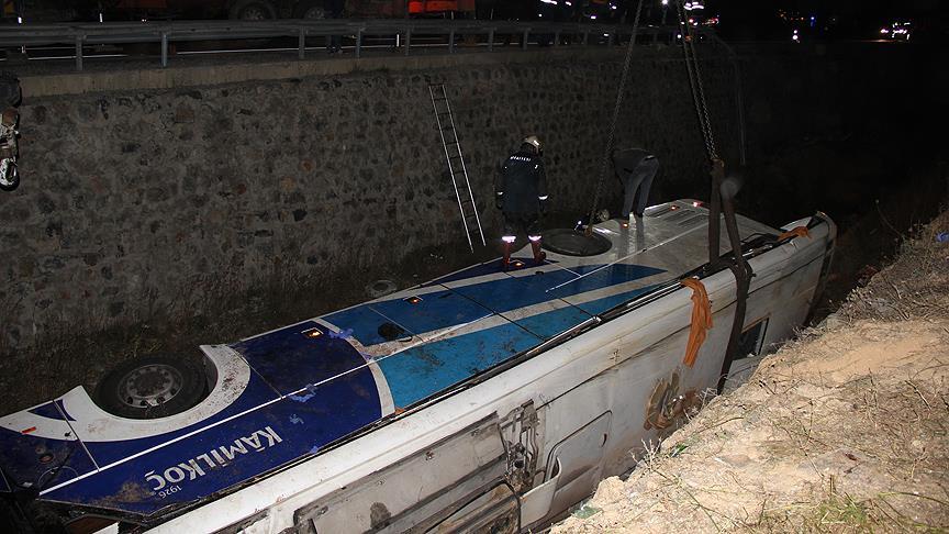 Afyonkarahisar'daki otobüs kazasında kahreden tesadüf