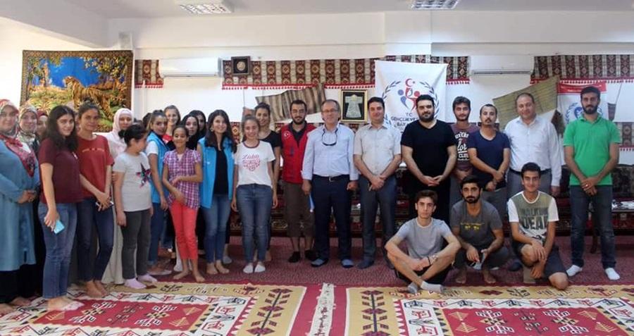 Tanrıverdi Adana Gençlik Merkezini ziyaret etti..