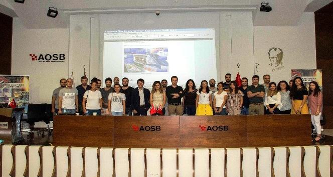 """AOSB'de """"İnovasyon ve Yeni Ürün Geliştirme'' eğitimi"""