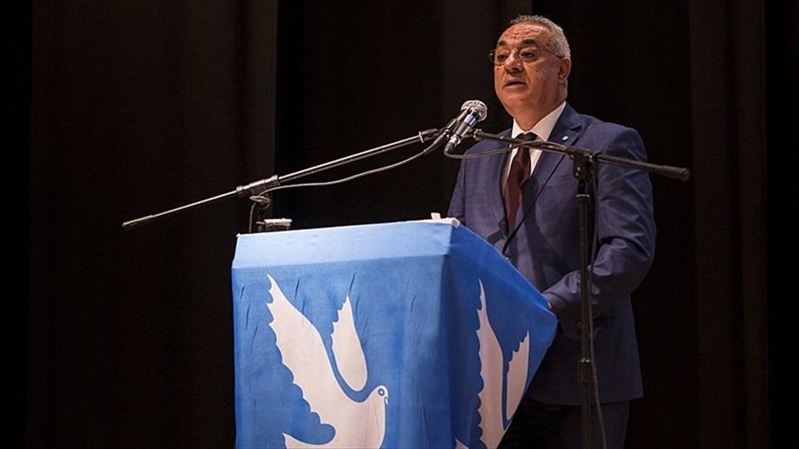 """Aksakal, """"DSP'nin yerel seçim bildirgesinin adı 'Cumhuriyet Kent Umudu Projesi'dir."""