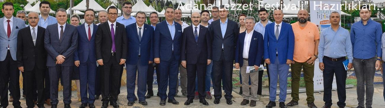"""""""Adana Lezzet Festivali"""" Hazırlıkları Devam Ediyor.."""