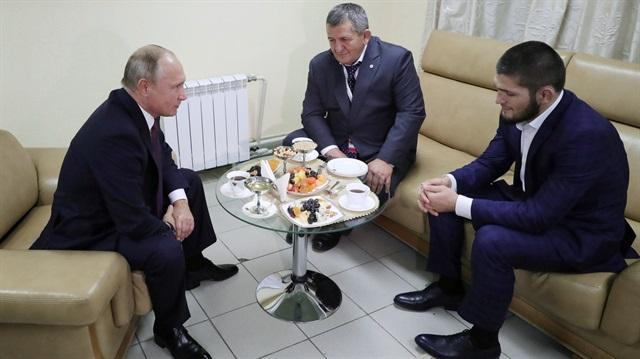Putin, Habib Nurmagomedov ile görüştü