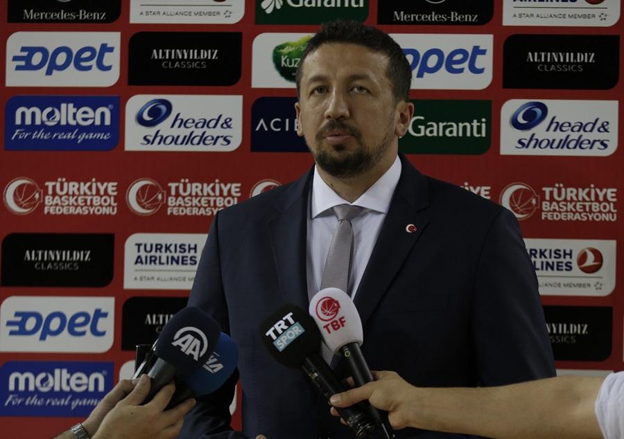 TBF Başkanı Hidayet Türkoğlu Adana'da