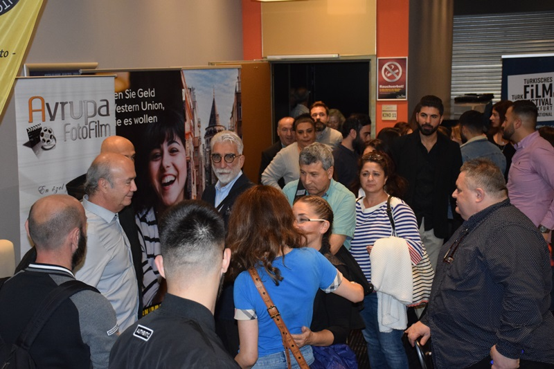 """18. Uluslararası Frankfurt Türk Film Festivali""""Murtaza"""" filmini ağırladı."""