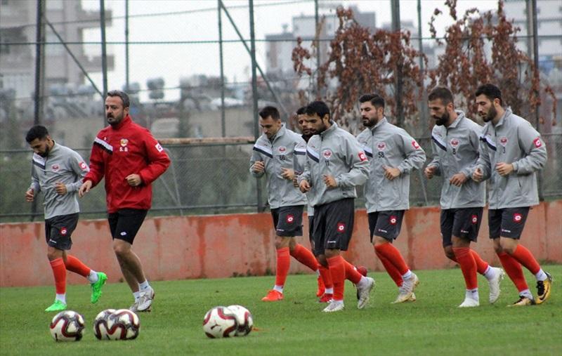 Adanaspor'da Kardemir Karabükspor maçı hazırlıkları başladı