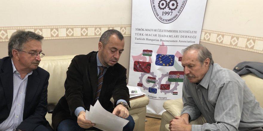 Başkan Vilmos'danTürk Macar İşadamları Derneği'neZiyaret
