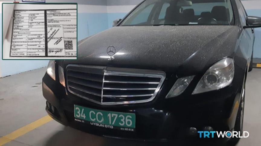 Suudi Başkonsolosluğuna ait diplomatik plakalı araç otoparkta bulundu