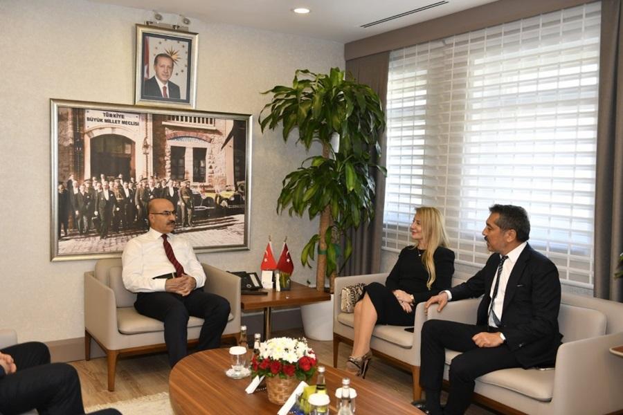 TED Adana Koleji Yönetiminden Vali Demirtaş'a Ziyaret