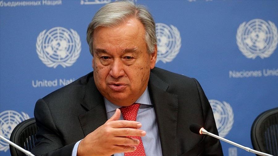 Guterres: Türkiye'nin meşru güvenlik kaygıları dikkate alınmalı