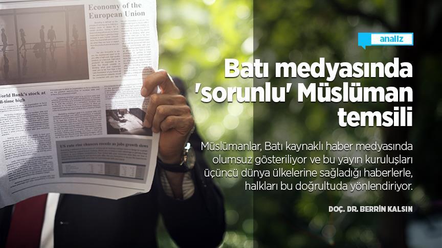Batı medyasında 'sorunlu' Müslüman temsili