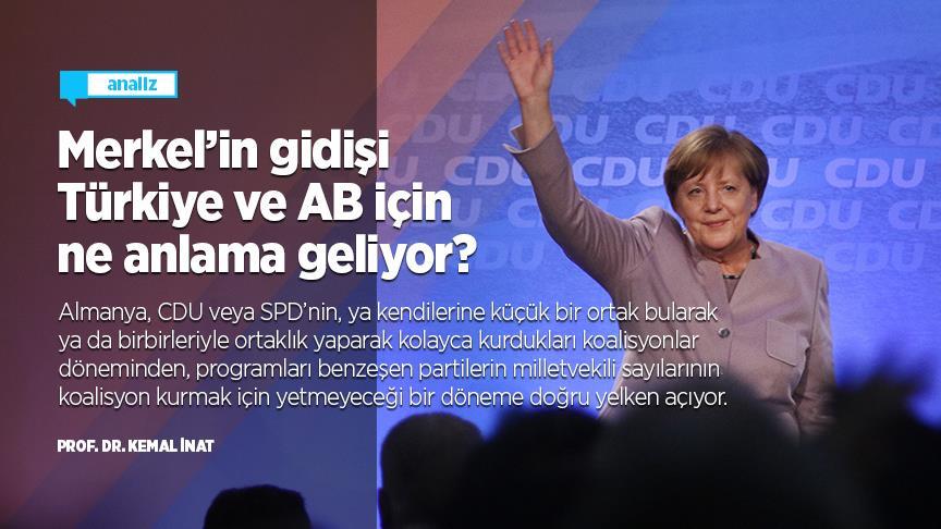 Merkel'in gidişi Türkiye ve AB için ne anlama geliyor?