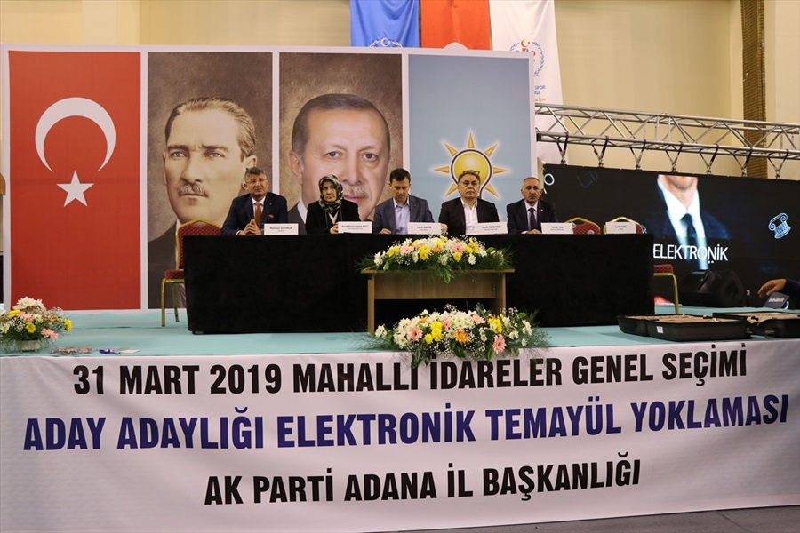 AK Parti'den Adana'da temayül yoklaması