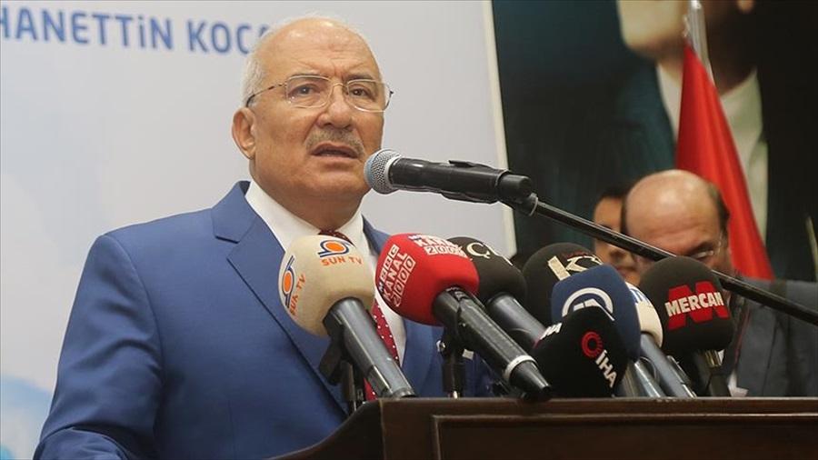 Demokrat Parti'nin Mersin adayı Burhanettin Kocamaz
