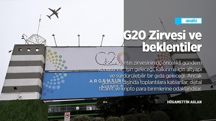 G20 Zirvesi ve beklentiler