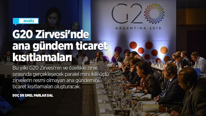 G20 Zirvesi'nde ana gündem ticaret kısıtlamaları