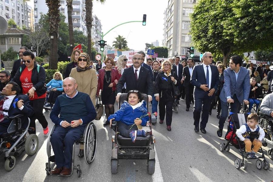 Adana ve Osmaniye'de Dünya Engelliler Günü dolayısıyla etkinlik düzenlendi