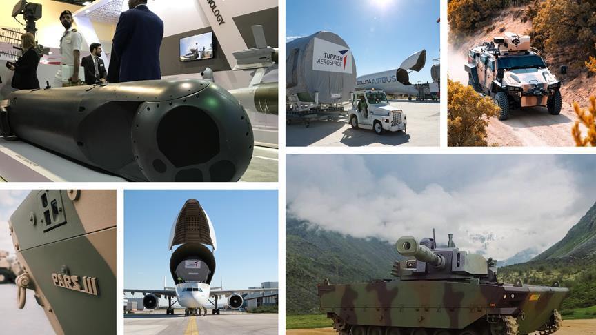 Savunma ve havacılık ihracatta rekora koştu