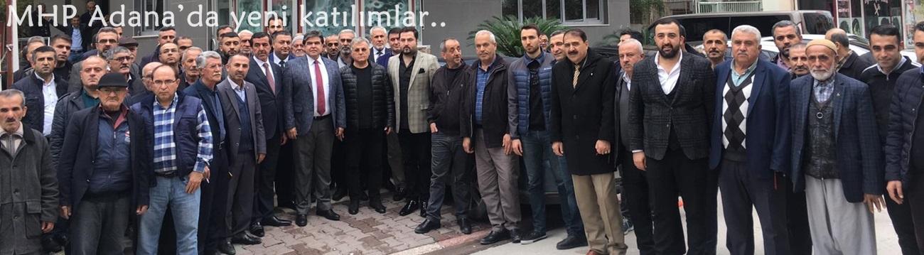 MHP Adana'da yeni katılımlar..