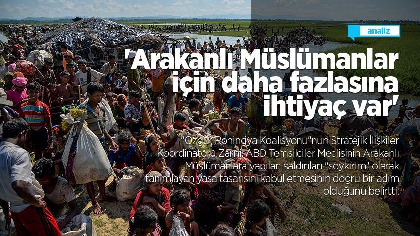 'Arakanlı Müslümanlar için daha fazlasına ihtiyaç var'