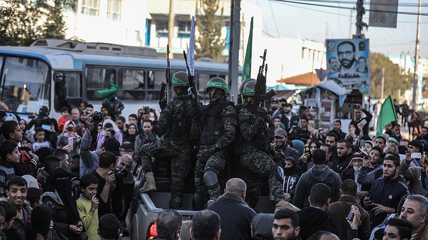 Hamas'ın 31. kuruluş yıl dönümü kutlanıyor