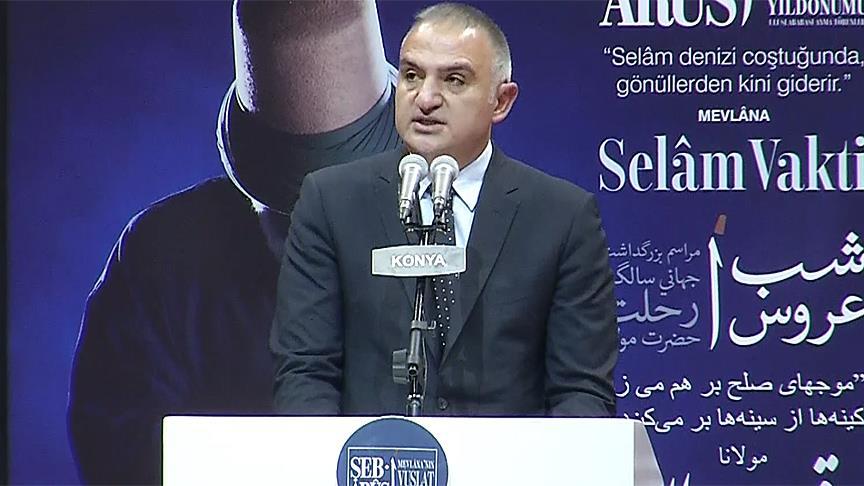 Kültür ve Turizm Bakanı Ersoy: Türkiye yardım isteyen hiçbir eli boş çevirmemiştir