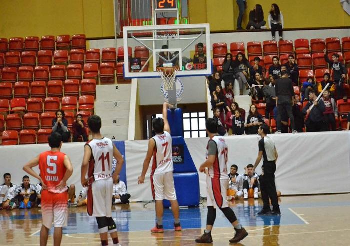 Adana'da Okullar arası Genç Erkekler (A) Basketbol İl Birinciliği Tamamlandı