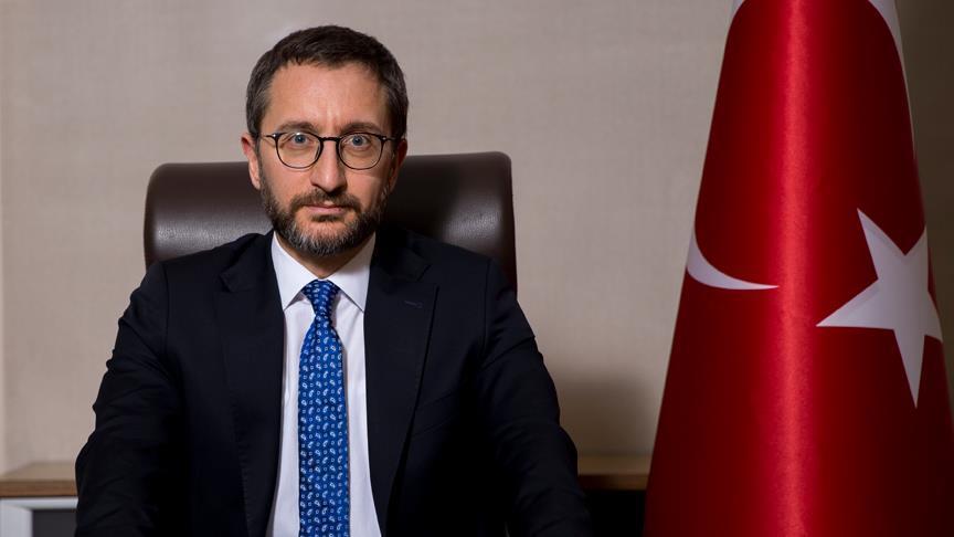 Altun: Türkiye'nin önceliği Suriye'nin toprak bütünlüğü