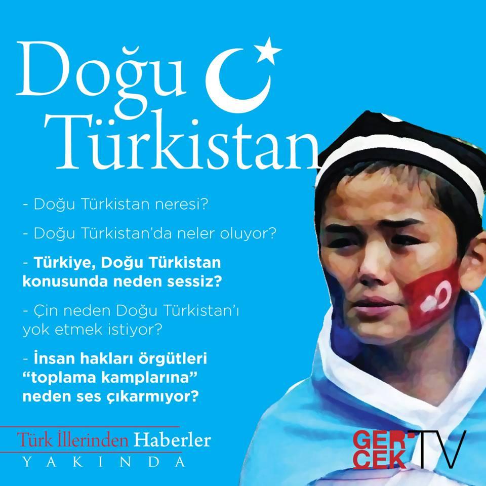 Benim Adım Doğu Türskistan!