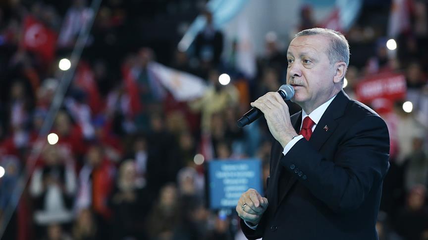 Başkan Erdoğan'dan Ordululara şiir sürprizi