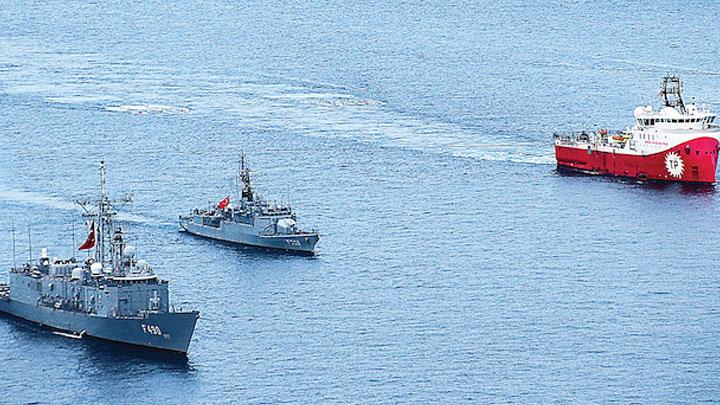 Donanma 7 gemiyi durdurdu