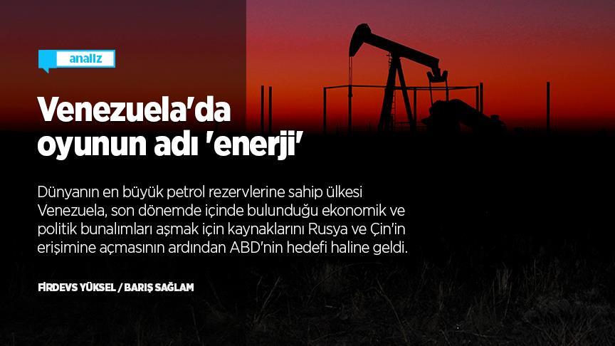 Venezuela'da oyunun adı 'enerji'