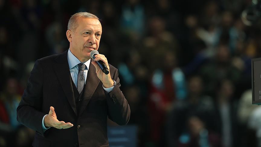 Erdoğan: Seçim sloganlarını Pensilvanya belirliyor