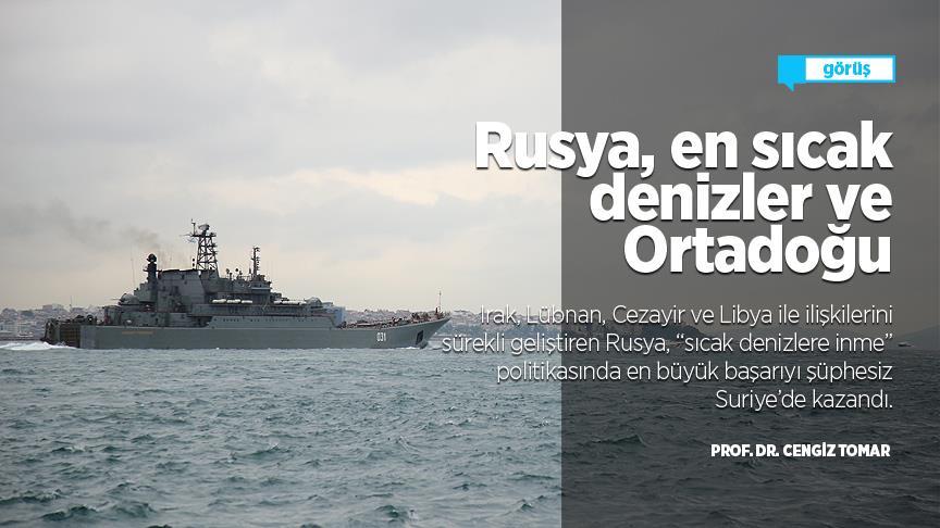 Rusya, en sıcak denizler ve Ortadoğu