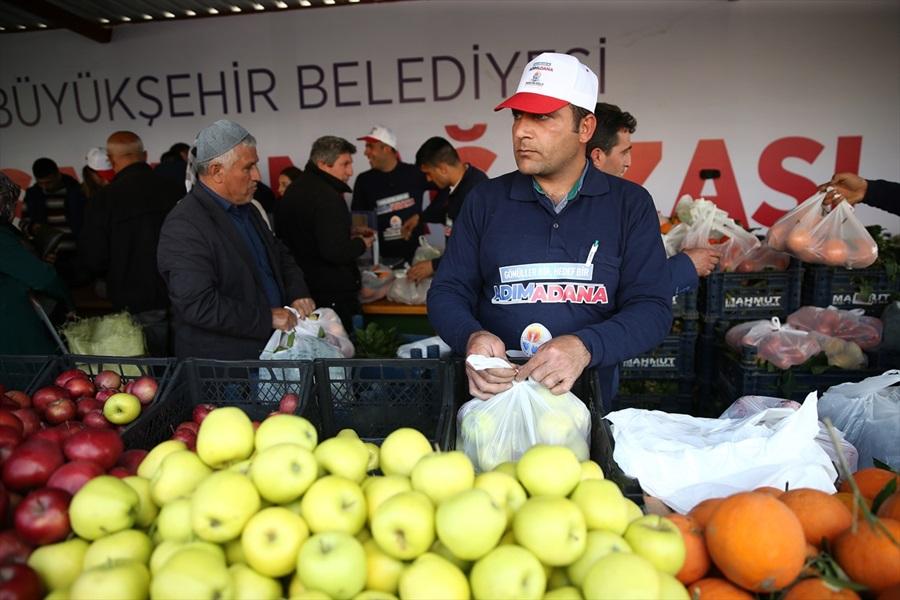 """Adana'da ilk """"tanzim satış noktası"""" açıldı"""