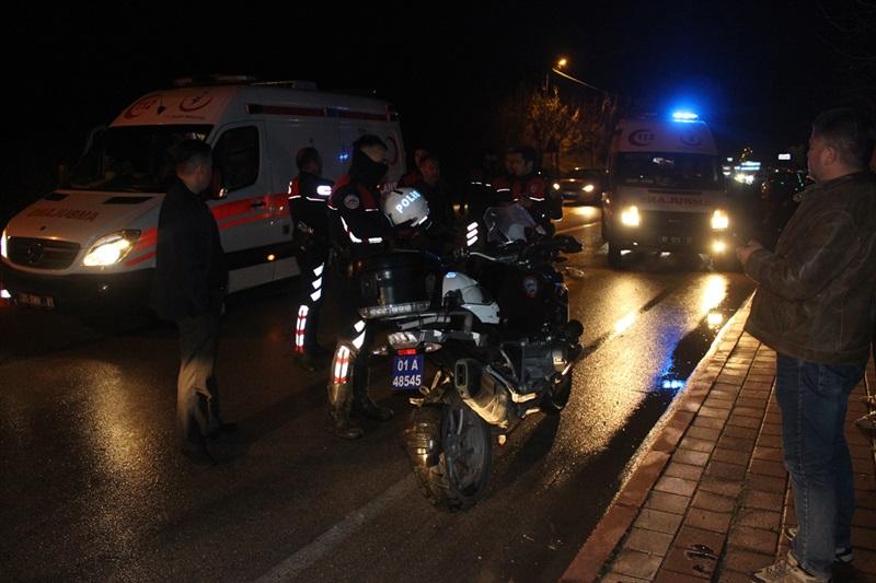 Polis ve vatandaşa çarpıp kaçan sürücü yakalandı