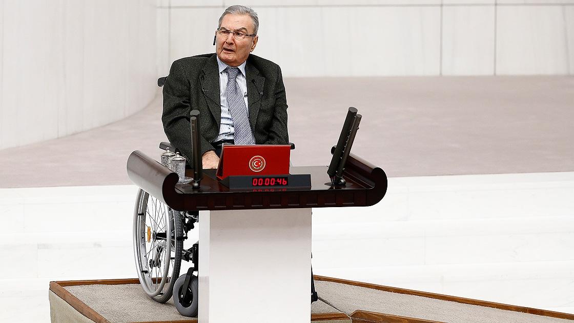 CHP Antalya Milletvekili Deniz Baykal yemin etti