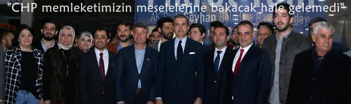 """""""CHP memleketimizin meselelerine bakacak hale gelemedi"""""""