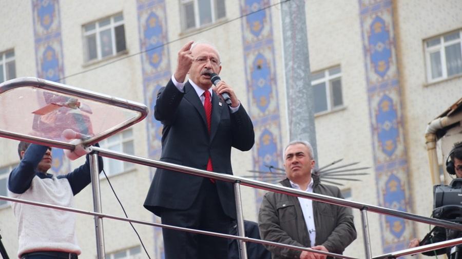 Kılıçdaroğlu: Huzurdan, üretmekten, çalışmaktan yanayız