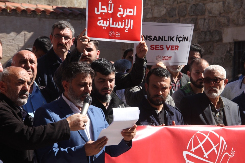 Mahmut Eraslan: 'Hemen, şimdi kadınlara acımasızca yapılan işkenceyi durdurun..'