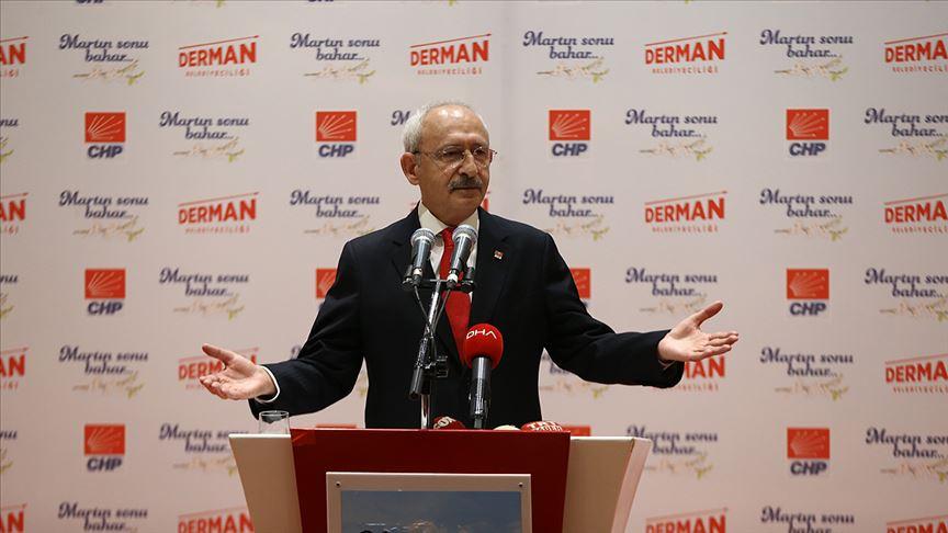 Kılıçdaroğlu: İşsizlik Türkiye'nin en temel sorunlarından birisidir