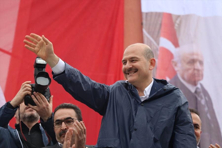 """Soylu: """"PKK irtibatı olanları meclis üyesi yaptırtmayız"""""""