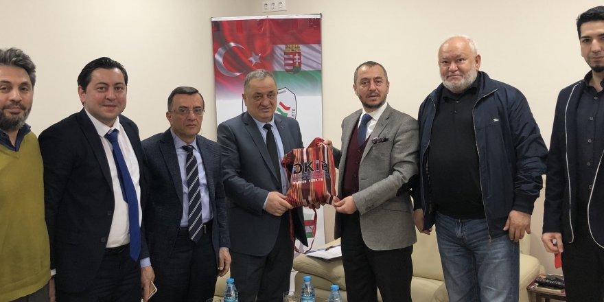 Doğu Karadeniz İhracatçılar Birliği'nden TÜMİŞAD'a ziyaret