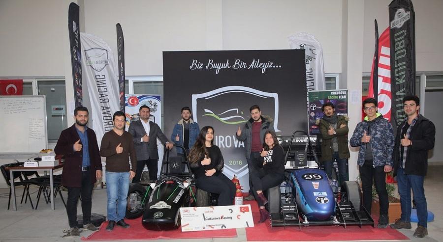 Çukurova Racing 2019 Model 3. Aracını Tasarladı