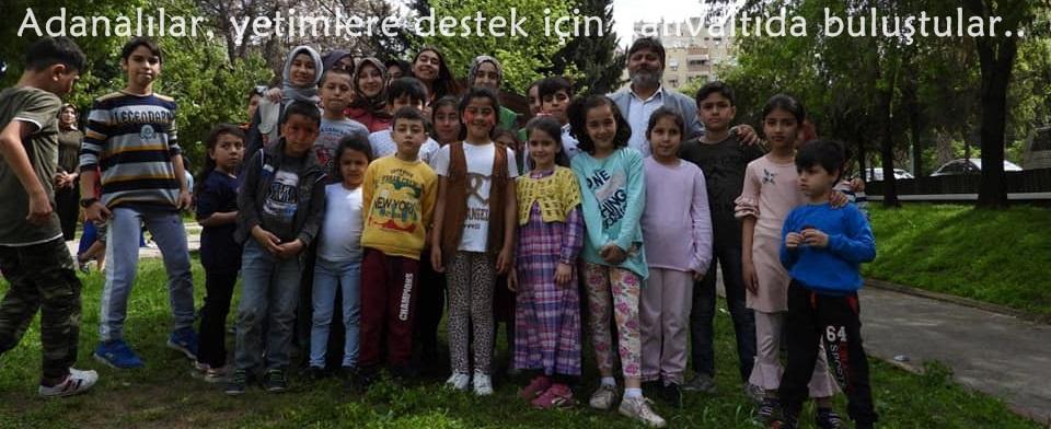 Adanalılar, yetimlere destek için kahvaltıda buluştu..