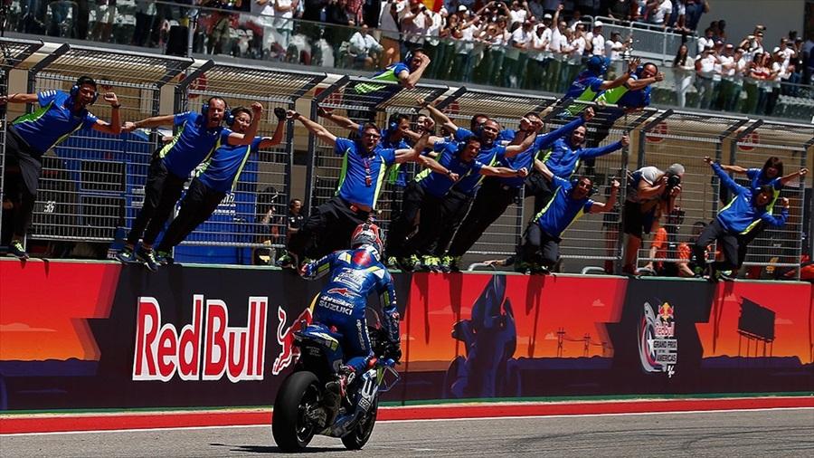 MotoGP'de ABD Grand Prix'sini Rins kazandı