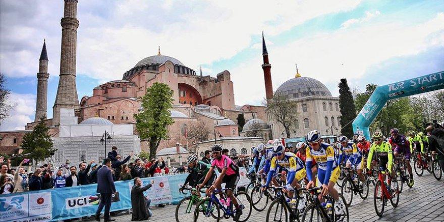 Cumhurbaşkanlığı Bisiklet Turu'nda 2. etabın galibi Bennett